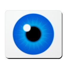 Blue Eye Iris and Pupil Mousepad