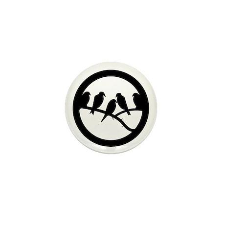 Bird Badge Icon Mini Button