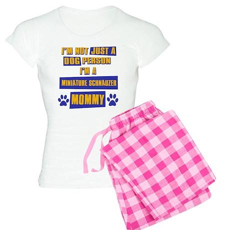 Miniature Schnauzer Mommy Women's Light Pajamas