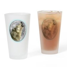Howling Wolf Pint Glass