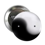 "Faded Yin Yang 2.25"" Button (100 pack)"