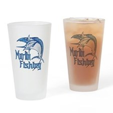 Marlin Fishing Pint Glass