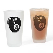 8 Ball NF Drinking Glass
