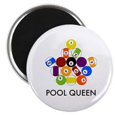 Pool Queen Magnet