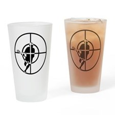 Lacrosse Sniper Pint Glass