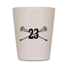 Lacrosse Number 23 Shot Glass