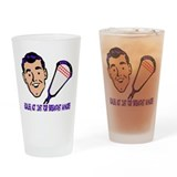 Lacrosse Goalie Breakfast Pint Glass