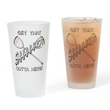 Lacrosse Shhhot Pint Glass
