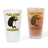 Lacrosse Falcons Pint Glass