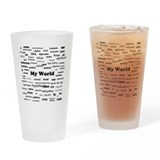 Stats are My World Pint Glass