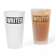Writer Castle Pint Glass