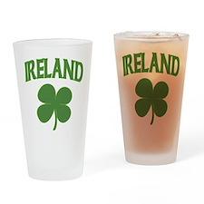 Ireland Shamrock Pint Glass