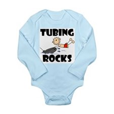 Tubing Rocks Long Sleeve Infant Bodysuit