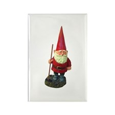 Garden Gnome Rectangle Magnet