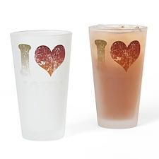 I Love John Pint Glass