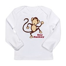 Bad Monkey Long Sleeve Infant T-Shirt