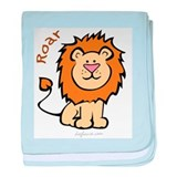 Roar (Lion) baby blanket