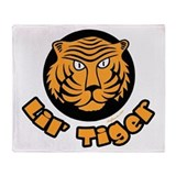 Lil' Tiger Throw Blanket
