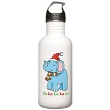 Fa La La La La Elephant Water Bottle