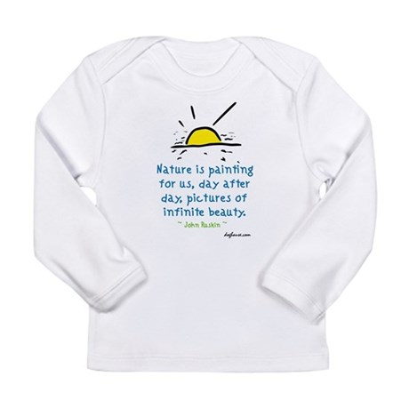 Infinite Beauty Long Sleeve Infant T-Shirt
