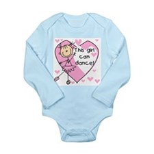 This Girl Can Dance Long Sleeve Infant Bodysuit
