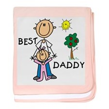 Best Daddy baby blanket