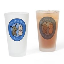 Open Your Heart - Rescued Pet Pint Glass