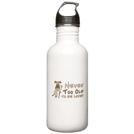 Senior Dog Adoption Stainless Water Bottle 1.0L