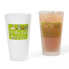 All My Fur Kids Pint Glass