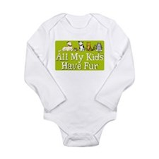 All My Fur Kids Onesie Romper Suit