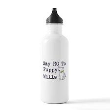 No Puppy Mills Water Bottle