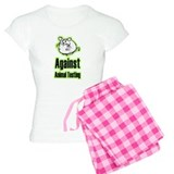 Against Animal Testing pajamas