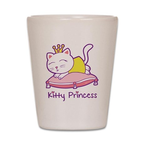 Kitty Princess Shot Glass