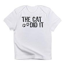 The Cat Did It Infant T-Shirt