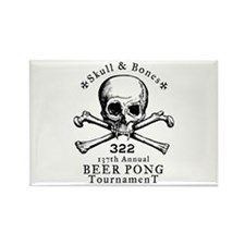 Bonesman Beer Pong Rectangle Magnet