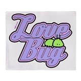 Love Bug Throw Blanket