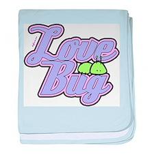 Love Bug baby blanket