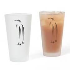 Penguin Pint Glass