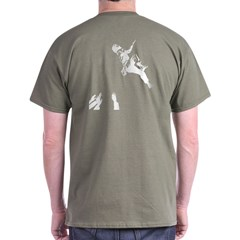 Bouldering (Back) Dark T-Shirt