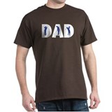 Golf Dad Black T-Shirt