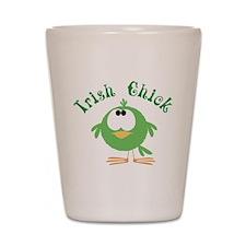 Irish Chick Shot Glass
