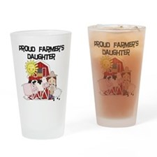 Proud Farmer's Daughter Pint Glass