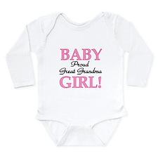 Baby Girl Great Grandma Onesie Romper Suit