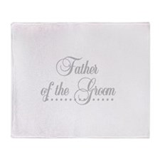 Father of the Groom Throw Blanket