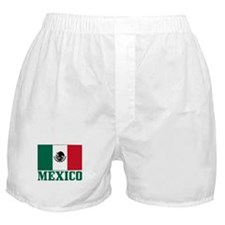 Mexico Flag Boxer Shorts