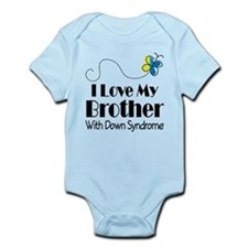 Down Syndrome Brother Infant Bodysuit
