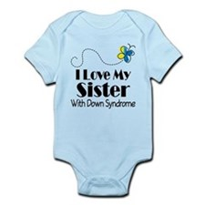 Down Syndrome Sister Infant Bodysuit