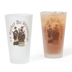 I'd Rather Be Shopping! Pint Glass