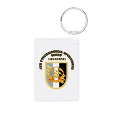 SOF - 4th PsyOps Flash with Text Keychains
