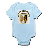 SOF - 4th PsyOps Flash with Text Infant Bodysuit